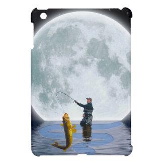 Walleye Night Fishing Outdoor Sporting Gift iPad Mini Cover