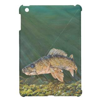 Walleye Original Painting iPad Mini Cover
