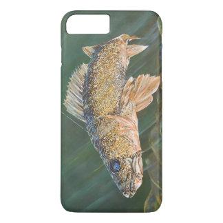 Walleye Original Painting iPhone 8 Plus/7 Plus Case