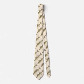 Walleye Pike Pattern Tie