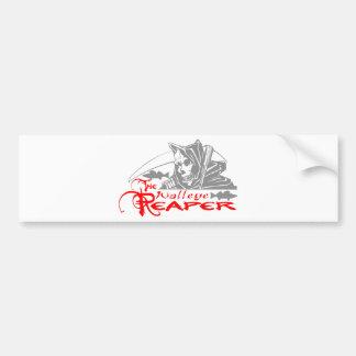 WALLEYE REAPER BUMPER STICKER