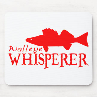 WALLEYE WHISPERER MOUSE PAD