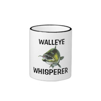WALLEYE WHISPERER COFFEE MUGS