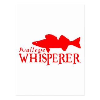 WALLEYE WHISPERER POSTCARD