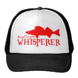 WALLEYE WHISPERER TRUCKER HAT