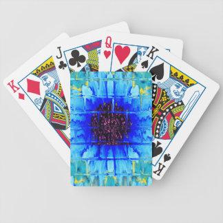Wallflower azul baraja de cartas