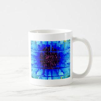 Wallflower azul taza