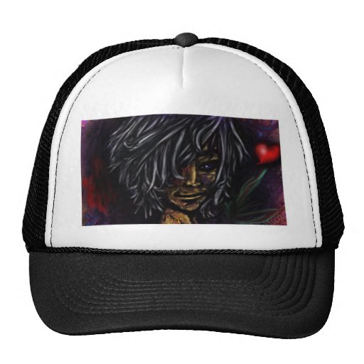 Wallflower Ghost Boy Hats