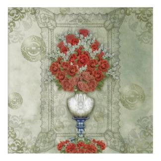 Wallflowers -- Roses Acrylic Print