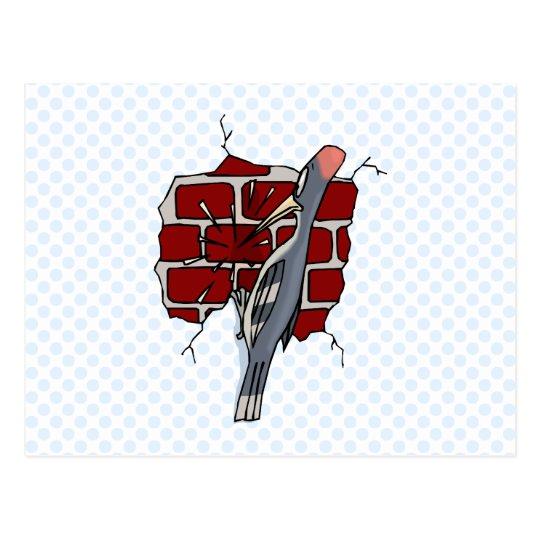 Wallie Woodpecker Postcard