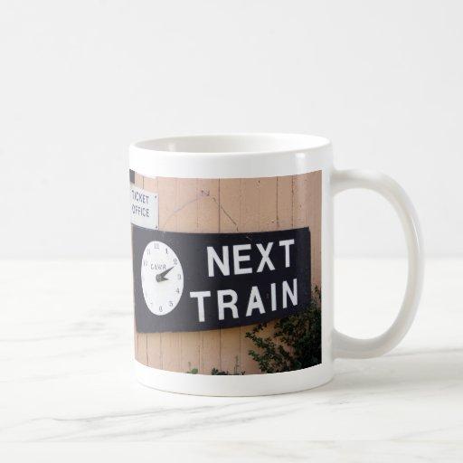 Wallingford station, Oxfordshire, UK Basic White Mug