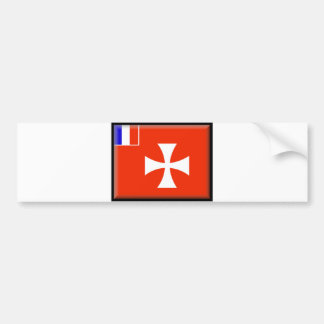 Wallis and Futuna Flag Bumper Sticker