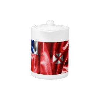 Wallis and Futuna Flag Teapot