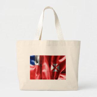 Wallis and Futuna Flag Tote Bag