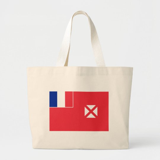 wallis and futuna large tote bag