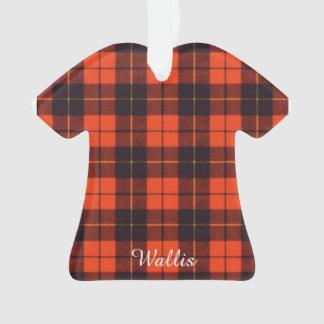 Wallis clan Plaid Scottish tartan