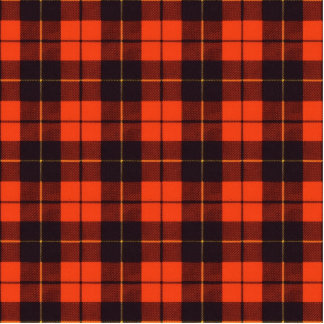 Wallis clan Plaid Scottish tartan Cutout