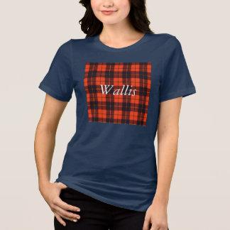 Wallis clan Plaid Scottish tartan Tee Shirt