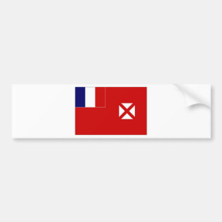 Wallis Futuna Local unofficial Flag Bumper Sticker