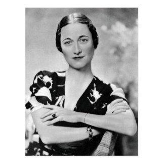 Wallis Simpson Postcard