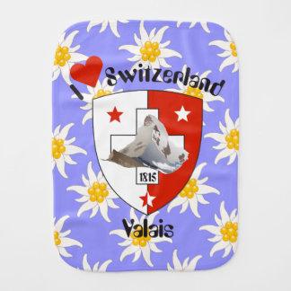 Wallis Valais Schweiz Suisse Spucktuch