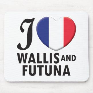 Wallis y amor de Futuna Alfombrillas De Ratones