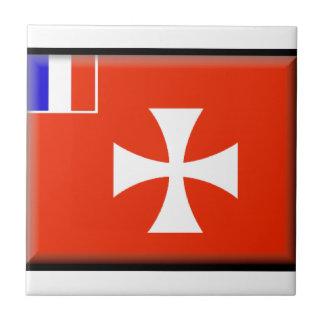 Wallis y bandera de Futuna Tejas Ceramicas