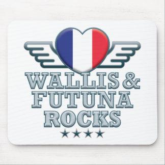 Wallis y rocas v2 de Futuna Alfombrillas De Ratón