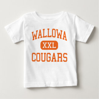 Wallowa - Cougars - High School - Wallowa Oregon T Shirt