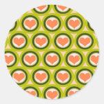 wallpaper background classic round sticker