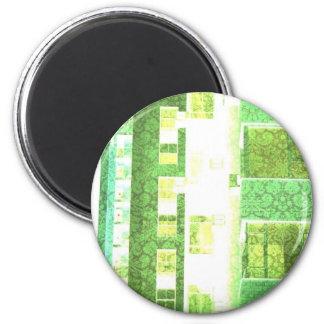 Wallpaper City 2 Inch Round Magnet