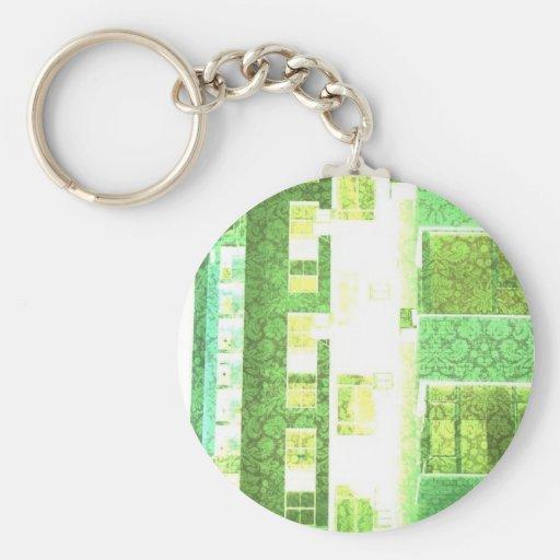 Wallpaper City Keychains