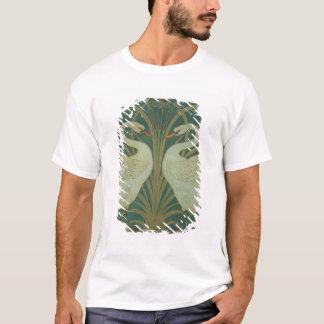 "Wallpaper Design for panel of ""Swan, Rush & Iris"" T-Shirt"