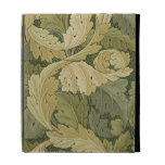 Wallpaper Design with Acanthus/Woodland colours, 1 iPad Cases