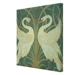 """Wallpaper el diseño para el panel del """"cisne, acom impresiones en lona estiradas"""
