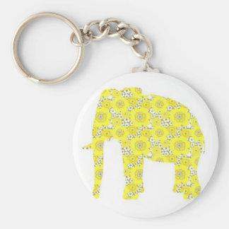 Wallpaper Elephant Keychain