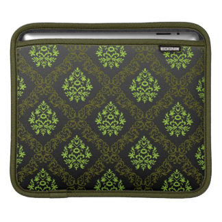 Wallpaper Floral Green Sleeve For iPads