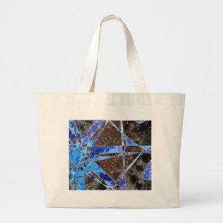 Wallpaper flower canvas bag