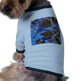Wallpaper flower dog tshirt