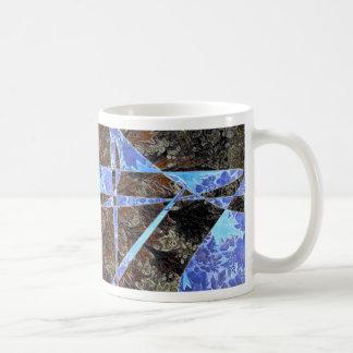 Wallpaper flower mugs