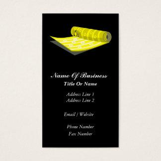Wallpaper Hanger Business Card