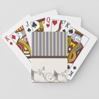 Wallpaper Pattern Playing Cards