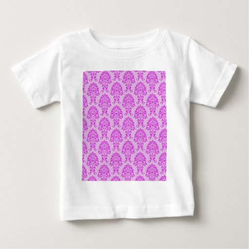 Wallpaper Vintage Art Flowers Floral Design Fashio Baby T-Shirt