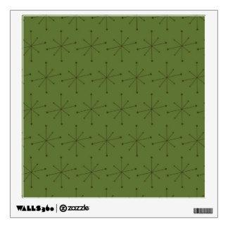 Walls 360 Custom Wall Decal MIDCENTURY MODERN STAR