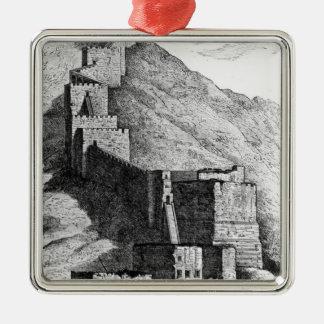 Walls of Antioch, 1894 Metal Ornament
