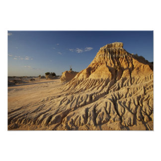 Walls of China Formations, Mungo National Posters