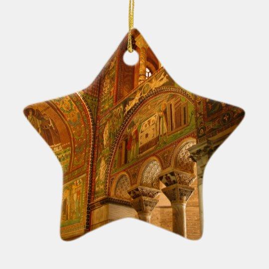 Walls of Mosaic Ceramic Ornament