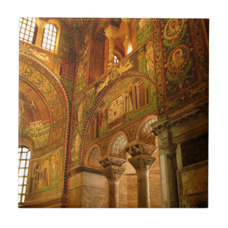 Walls of Mosaic Ceramic Tile