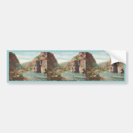 Walls of the Canon, Grand River (Canyon) Bumper Sticker