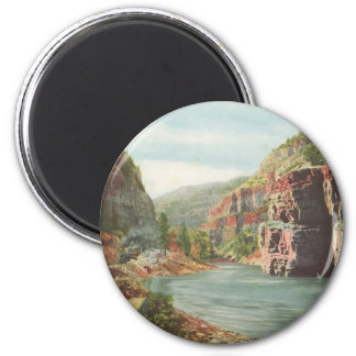 Walls of the Canon, Grand River (Canyon) Magnet